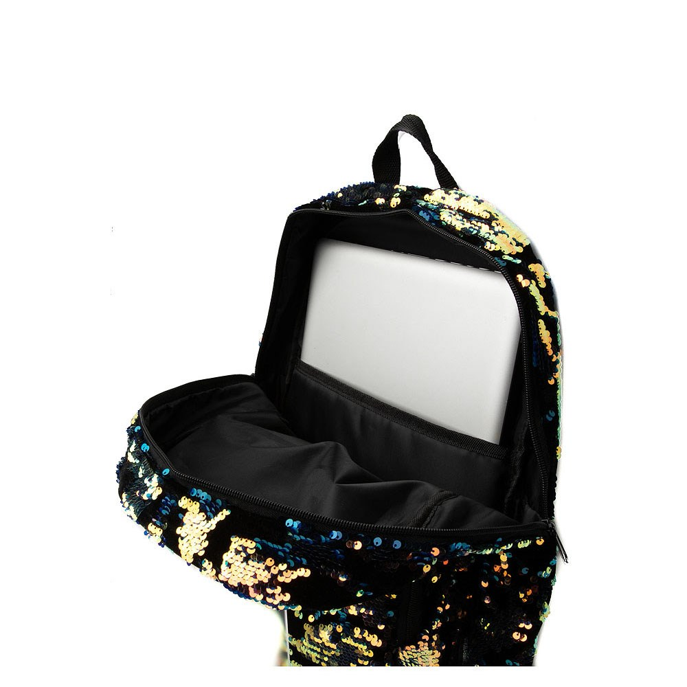 Velvet Two-Tone Sequin Backpack. Previous. ALT3 0aab6dbe9bf65