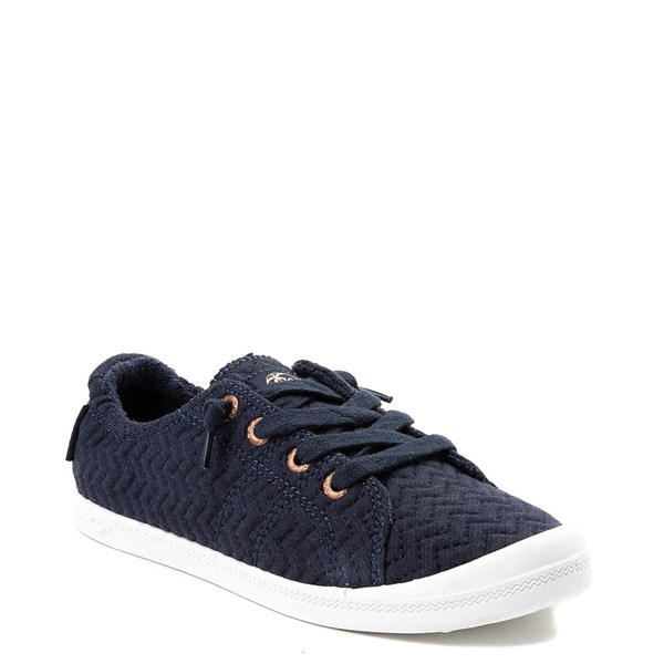 alternate view Womens Roxy Bayshore Casual Shoe - NavyALT1