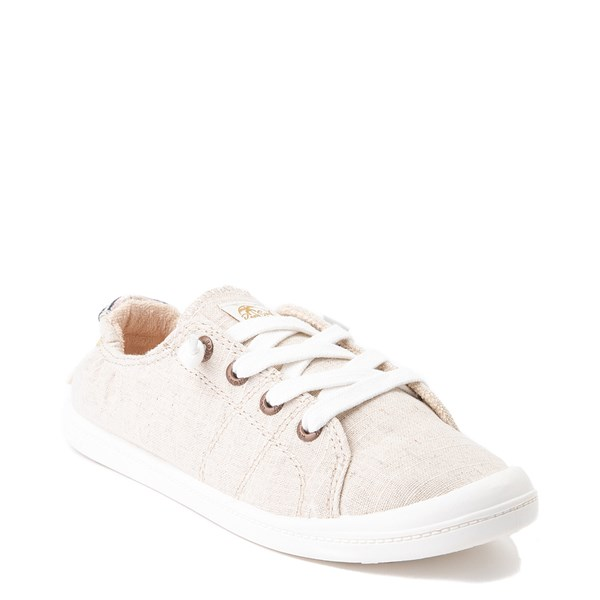 alternate view Womens Roxy Bayshore Casual Shoe - NaturalALT1