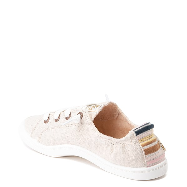 alternate view Womens Roxy Bayshore Casual Shoe - NaturalALT2