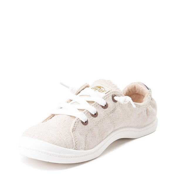 alternate view Womens Roxy Bayshore Casual Shoe - NaturalALT3