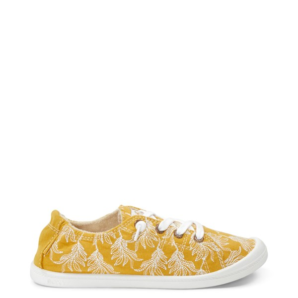 Womens Roxy Bayshore Casual Shoe - Mustard