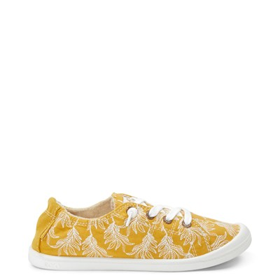 Main view of Womens Roxy Bayshore Casual Shoe - Mustard