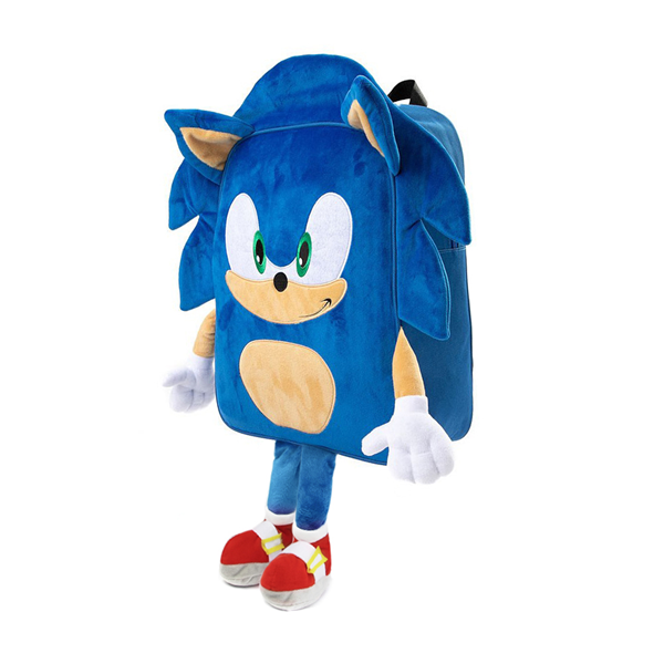 alternate view Sonic the Hedgehog™ 3D Backpack - BlueALT4