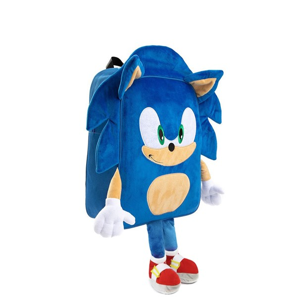 alternate view Sonic the Hedgehog™ 3D Backpack - BlueALT4B