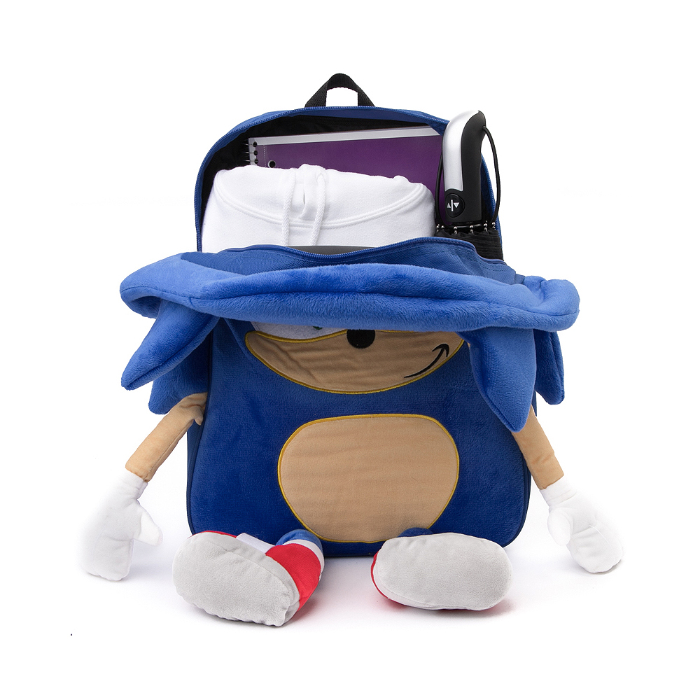 Sonic The Hedgehog Trade 3d Backpack Blue Journeys