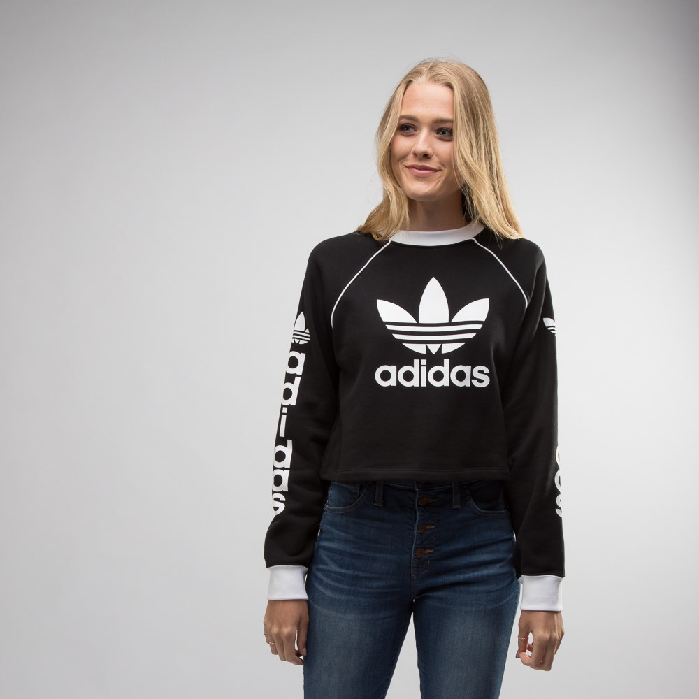 Womens adidas Cropped Sweater