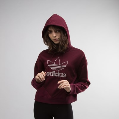 7cdd7f5d8179bc Womens adidas Colorado Cropped Hoodie