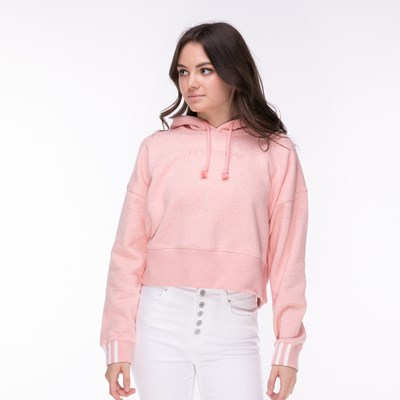 Main view of Womens adidas Coeeze Cropped Hoodie