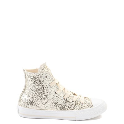 Main view of Youth/Tween Converse Chuck Taylor All Star Hi Glitter Sneaker