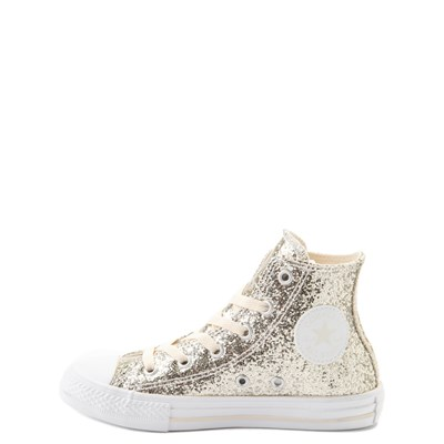 Alternate view of Converse Chuck Taylor All Star Hi Glitter Sneaker - Little Kid / Big Kid