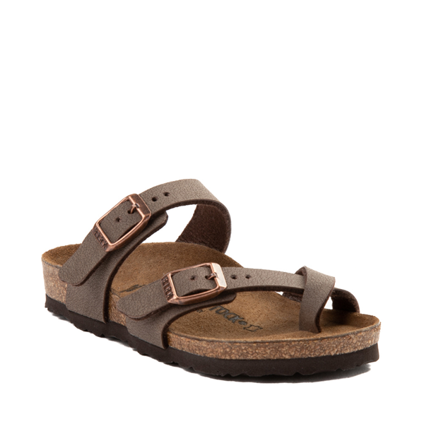 alternate view Birkenstock Mayari Sandal - Little Kid - BrownALT5