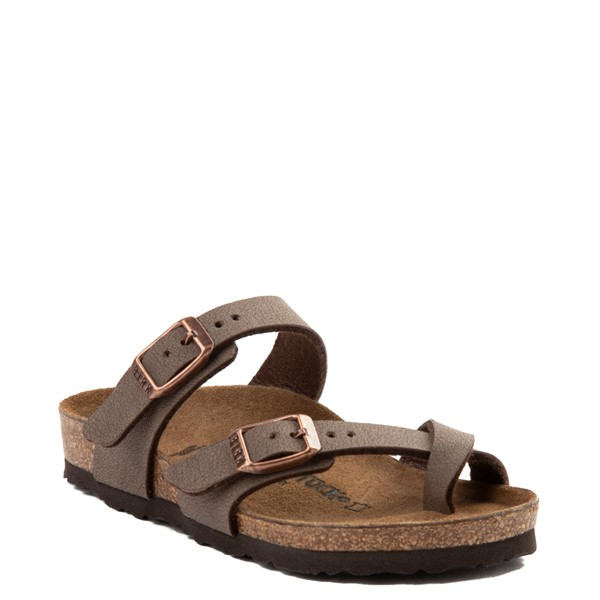 alternate view Birkenstock Mayari Sandal - Little Kid - BrownALT1