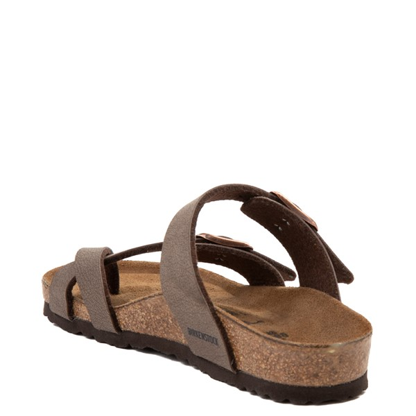 alternate view Birkenstock Mayari Sandal - Little Kid - BrownALT2