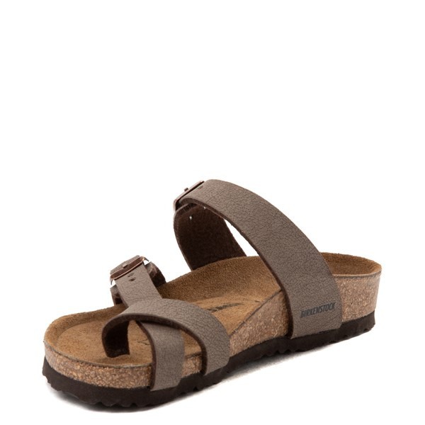 alternate view Birkenstock Mayari Sandal - Little Kid - BrownALT3