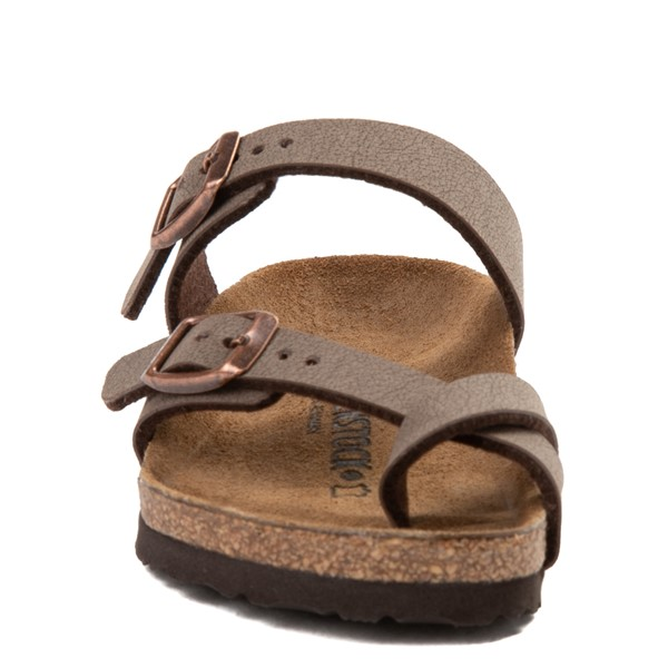 alternate view Birkenstock Mayari Sandal - Little Kid - BrownALT4