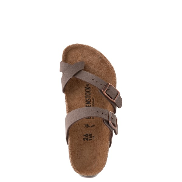 alternate view Birkenstock Mayari Sandal - Little Kid - BrownALT4B