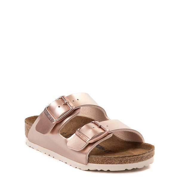 alternate view Birkenstock Arizona Sandal - Little Kid - Rose GoldALT1