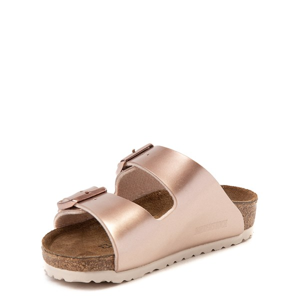 alternate view Birkenstock Arizona Sandal - Little Kid - Rose GoldALT3