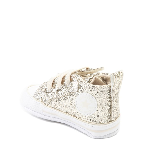alternate view Converse Chuck Taylor First Star Glitter Sneaker - BabyALT2