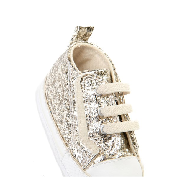 alternate view Converse Chuck Taylor First Star Glitter Sneaker - BabyALT3B