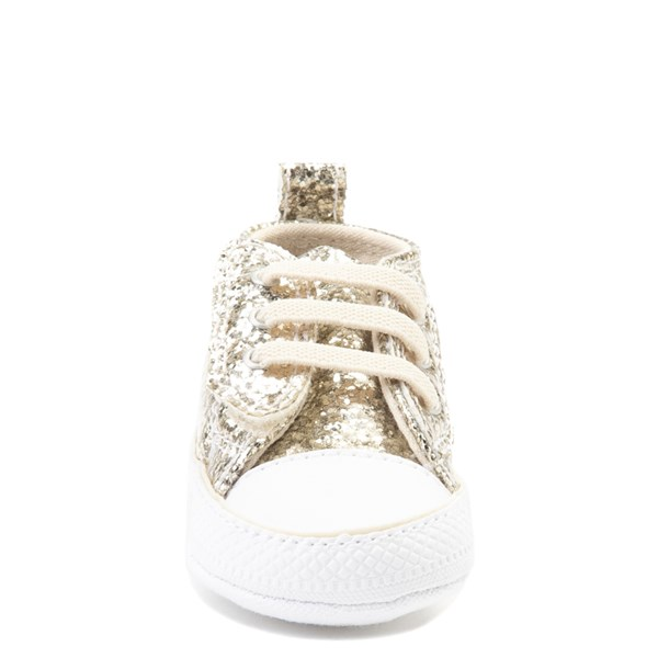 alternate view Converse Chuck Taylor First Star Glitter Sneaker - BabyALT4