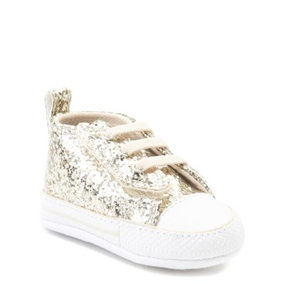 Alternate view of Converse Chuck Taylor First Star Glitter Sneaker - Baby