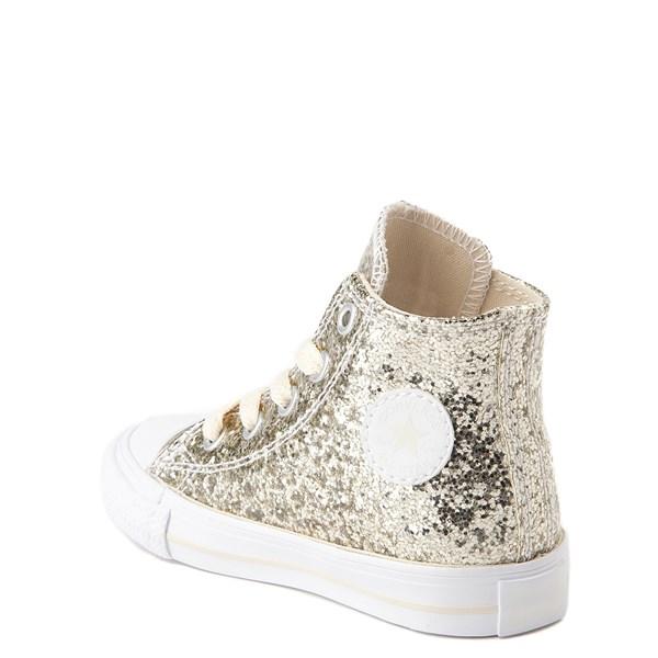 alternate view Converse Chuck Taylor All Star Hi Glitter Sneaker - Baby / ToddlerALT2