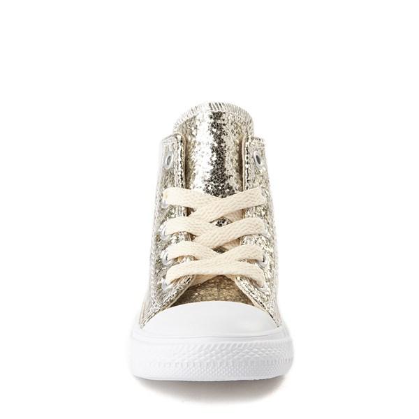alternate view Converse Chuck Taylor All Star Hi Glitter Sneaker - Baby / ToddlerALT4