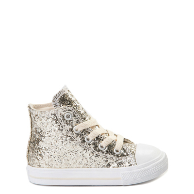Main view of Toddler Converse Chuck Taylor All Star Hi Glitter Sneaker