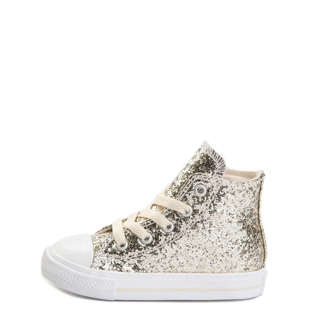 Converse Chuck Taylor All Star Hi Glitter Sneaker - Baby / Toddler