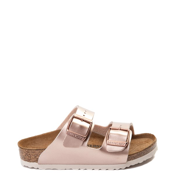 Main view of Birkenstock Arizona Sandal - Toddler / Little Kid - Rose Gold