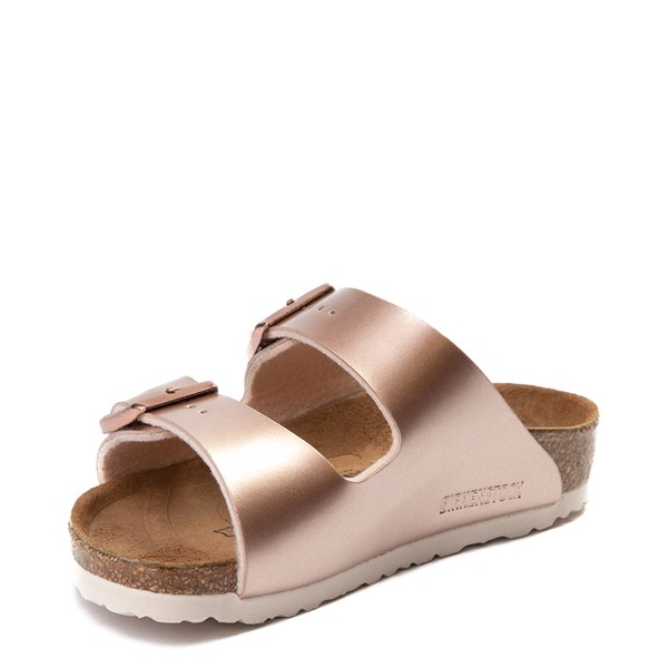 alternate view Birkenstock Arizona Sandal - Toddler / Little Kid - Rose GoldALT3