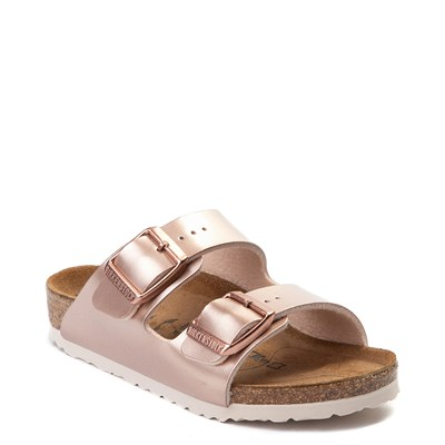 Alternate view of Birkenstock Arizona Sandal - Toddler / Little Kid - Rose Gold