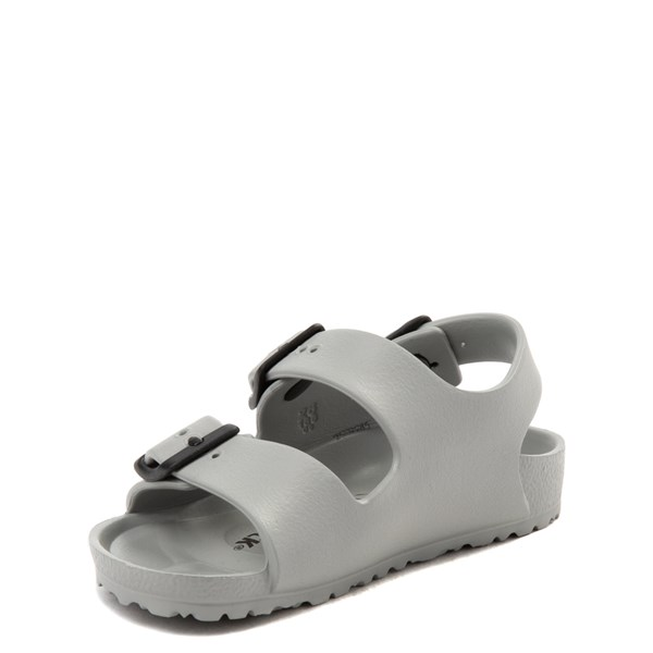 alternate view Birkenstock Milano EVA Sandal - Toddler / Little Kid - Seal GrayALT3