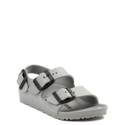 Alternate view of Birkenstock Milano EVA Sandal - Toddler / Little Kid - Seal Gray