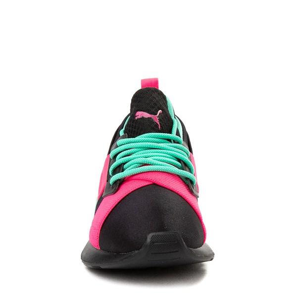 alternate view Puma Muse Satin Athletic Shoe - Big KidALT4