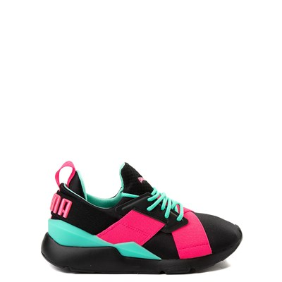 Main view of Puma Muse Satin Athletic Shoe - Big Kid