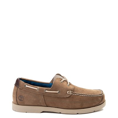 Main view of Mens Timberland Piper Cove Boat Shoe - Light Brown