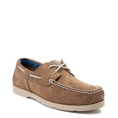 Alternate view of Mens Timberland Piper Cove Boat Shoe - Light Brown
