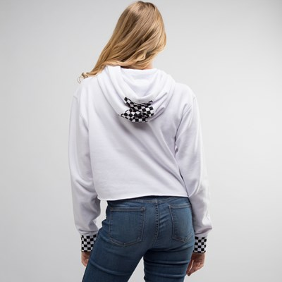 Alternate view of Womens Vans Cropped Hoodie
