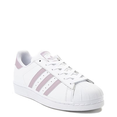 Alternate view of Womens adidas Superstar Athletic Shoe - White / Mauve