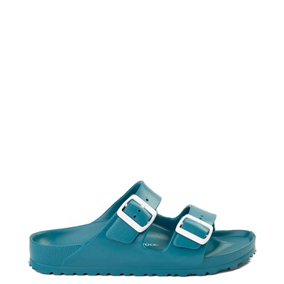 Main view of Womens Birkenstock Arizona EVA Sandal - Turquoise