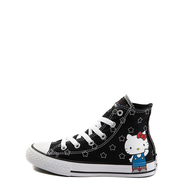 Alternate view of Converse Chuck Taylor All Star Hi Hello Kitty Stars Sneaker - Little Kid