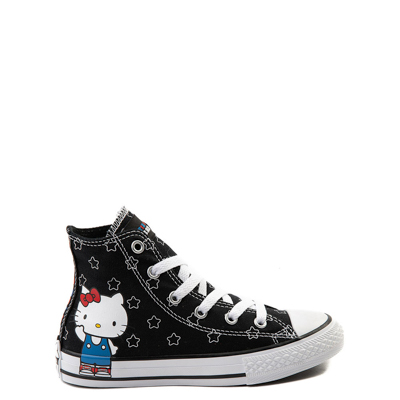 Main view of Youth Converse Chuck Taylor All Star Hi Hello Kitty® Stars Sneaker