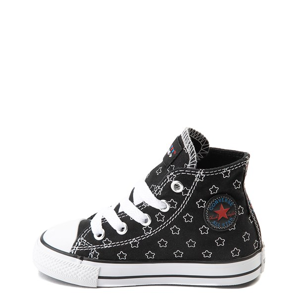 alternate view Converse Chuck Taylor All Star Hi Hello Kitty® Stars Sneaker - Baby / ToddlerALT1