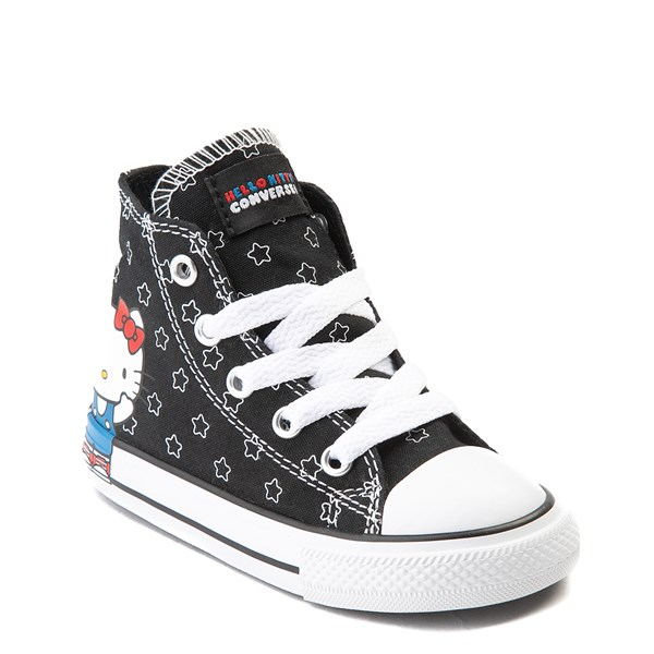 alternate view Converse Chuck Taylor All Star Hi Hello Kitty® Stars Sneaker - Baby / ToddlerALT1B