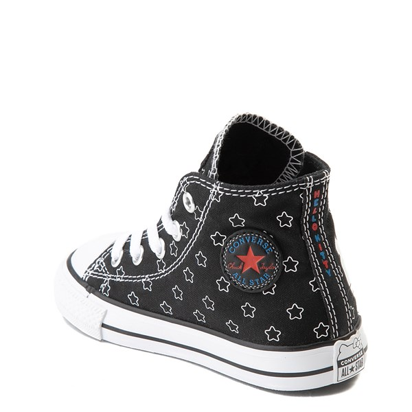 alternate view Converse Chuck Taylor All Star Hi Hello Kitty® Stars Sneaker - Baby / ToddlerALT2