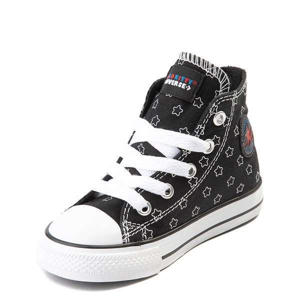 alternate view Converse Chuck Taylor All Star Hi Hello Kitty® Stars Sneaker - Baby / ToddlerALT3