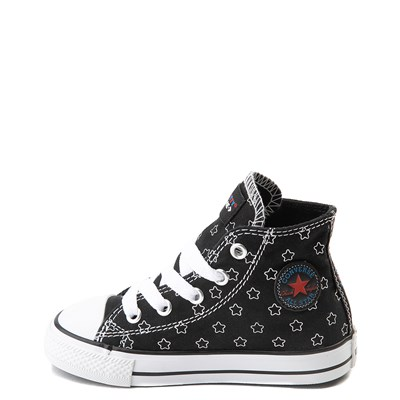 Alternate view of Converse Chuck Taylor All Star Hi Hello Kitty® Stars Sneaker - Baby / Toddler